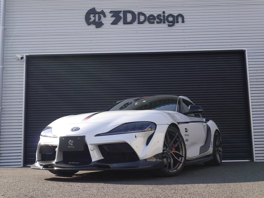 トヨタGRスープラRZの200万円のパーツ装着された3DDesignのデモカーが販売中! 価格は?