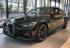美しいサンレモ・グリーンのBMW新型4シリーズクーペ(G22)の展示車がGooネットで新車販売中!オプション含む新品車両価格と比べてみた(^^)