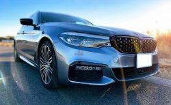BMW5シリーズツーリングG31にメッシュ・ダイヤモンドキドニーグリルを装着しました!【取付パーツレビュー】