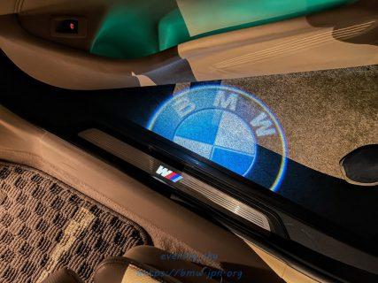 【パーツレビュー】BMW純正LEDドアプロジェクターをBMW G31に取り付けました♪作業の途中失敗も(^_^;)