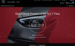 メルセデス・ベンツ新型「Cクラス」ティザー写真を公開!2月23日にオンラインで世界初公開!!