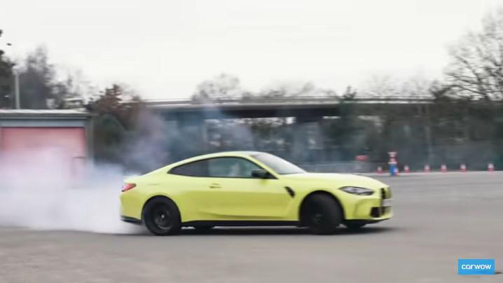 「carwow」がBMW新型M4クーペの試乗レビュー動画が最高に面白い(^^)ドリフトしまくり、ローンチコントロールにフルブレーキングで広報車をやりたい放題(^_^;)