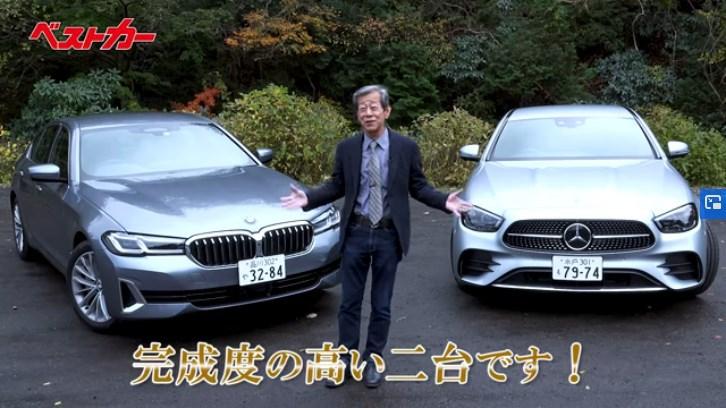 水野節炸裂!BMW5シリーズLCI&ベンツEクラスを超本音分析!『水野和敏が斬る』Youtube動画が公開されました♪