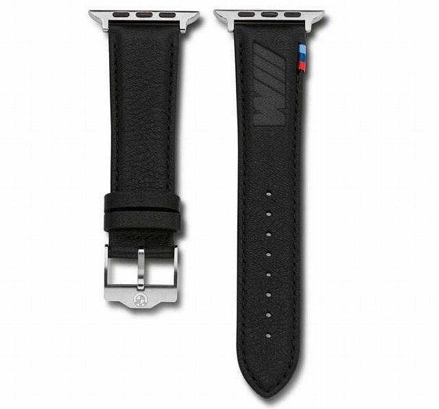 BMW純正Apple Watch Mロゴ刻印レザーバンド(ベルト)を買っちゃいました(^^)