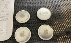 BMW刻印入りApple「AirTag」が届きました(^^)開封レビュー!