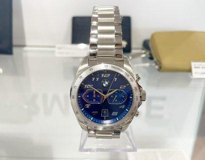 キドニーグリルがデザインされたBMW純正ポーツクロノグラフ(腕時計)がカッコいい♪