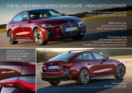 BMW新型4シリーズグランクーペ(G26)が待望のワールドプレミア!