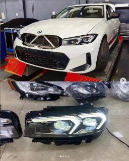 BMW3シリーズ(G20)の2022年LCIモデルの偽装なしのフェイスリフト画像がリーク!?