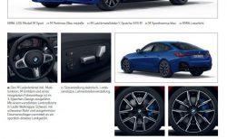 新型BMW4シリーズグランクーペ(G26)の本国カタログをダウンロードしてみた(^^)M PERFORMANCEパーツも流用できそう(*^^*)