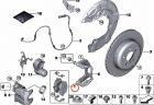 BMW3シリーズ(G20,G21)/新型4シリーズ(G22,G23)/Z4(G29)で走行距離25,000km未満の車でリアブレーキパッドの早期摩耗不具合が発生!?既に対策用ブレーキパッドもでている模様。