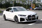 BMW新型4シリーズグランクーペ(G26)ベースの「ALPINA B4グランクーペ」の最初のスパイショットとニュル走行動画など。