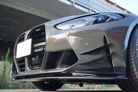 dortの新型BMW M4コンペティション(G82)デモカーにACシュニッツァーのエアロ装着で圧倒的存在感!